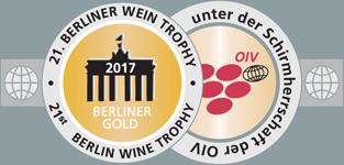 Berliner Wein Trophy 2017 - Medalla de Oro
