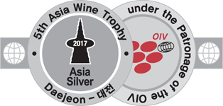 Silver Medal - Asia Wine Trophy 2017