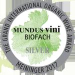 Medalla de plata Mundus Vini Biofach 2017