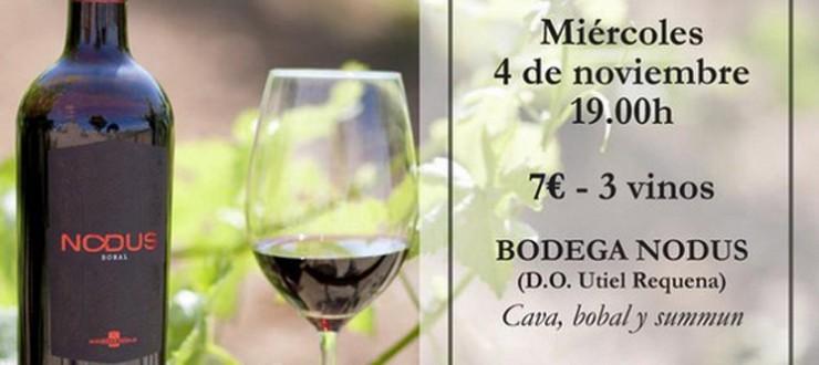 Cata de vinos Nodus en restaurante Il Rosso