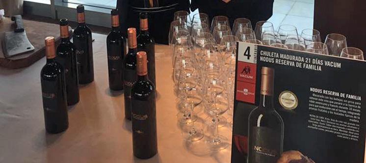 Maridaje vino Nodus Reserva de Familia