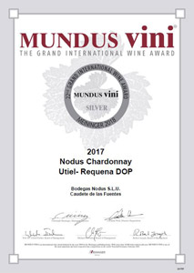Certificado Medalla Plata Mundus Vini 2018