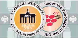 Medalla Oro Berliner Wein Trophy 2019