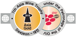 Medalla Oro Asia Wine Trophy 2019