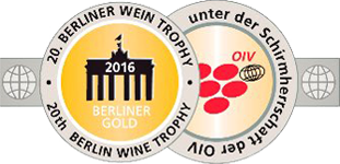 Medalla de Oro - Berliner Wein Trophy 2016