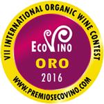 Ecovino 2016 - Gold medal