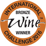 Medalla bronce - International Wine Challenge Londres 2016