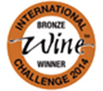 Medalla bronce Concurso Internacional Wine and Spirit Competition 2014