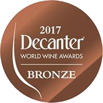 Medalla bronce - Decanter World Wine Awards 2017