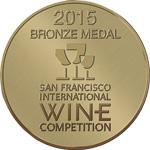 Medalla de bronce San Francisco Wine Challenge