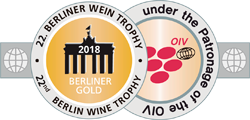Medalla Oro Berliner Wein Trophy 2018