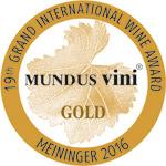 Concurso Mundus Vini 2016 - Medalla de Oro