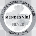 Medalla Plata Mundus Vini 2018
