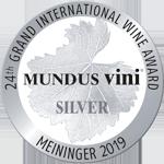 Medalla Plata Mundus Vini 2019