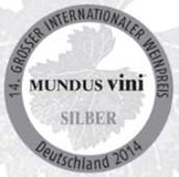 Premio Mundus Vini Medalla de Plata