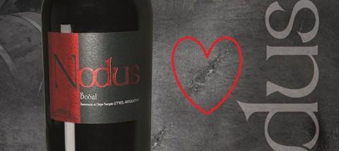 Comparte un vino Nodus Bobal en San Valentín