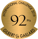 Oro 92 puntos Gilbert & Gaillard 2019