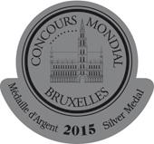 Medalla de plata en el Concurso Mundial de Bruselas 2015