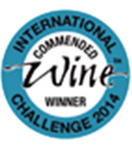 Commended wine at International Wine and Spirit Competition 2014