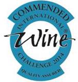 Commended wine at International Wine Challenge UK