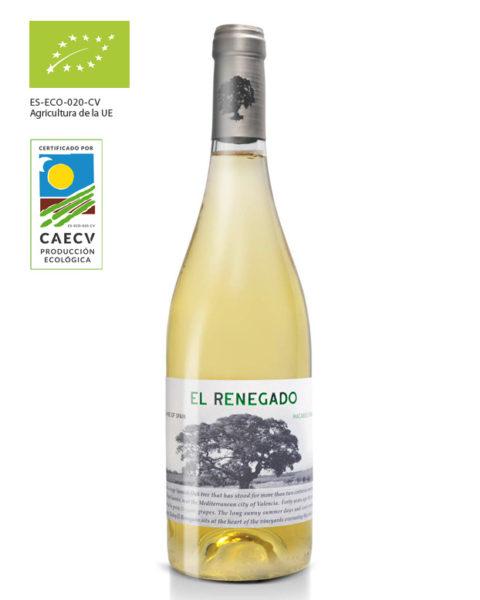 Vino blanco Finca El Renegado - vino ecológico