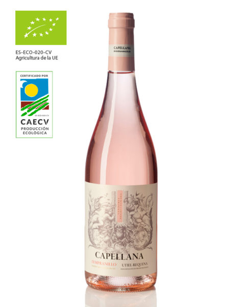 Vino rosado Capellana