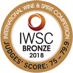 Medalla bronce IWSC 2018
