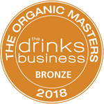 Medalla bronce - The Organic Masters 2018