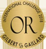 Medalla de oro Gilbert & Gaillard 2018