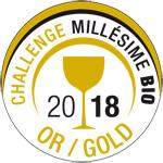 Medalla Oro Millesime Bio 2018