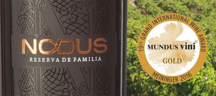 Nodus Reserva de Familia 2011 Medalla de Oro Mundus Vini 2016