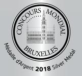 Medalla de Plata - Concurso Mundial de Bruselas 2018