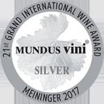 银牌 - Mundus Vini 2017