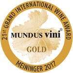 Medalla de Oro - Mundus Vini 2017