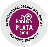 Medalla de plata Ecovino 2018
