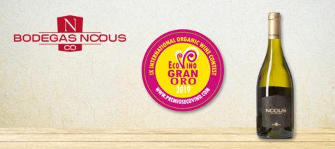 Medalla Gran Oro Nodus Chardonnay
