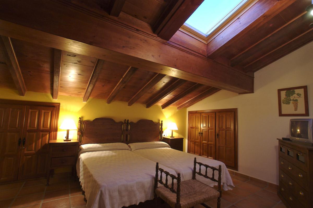 habitación hotel rural