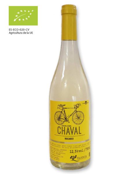 Vino blanco Chaval Macabeo