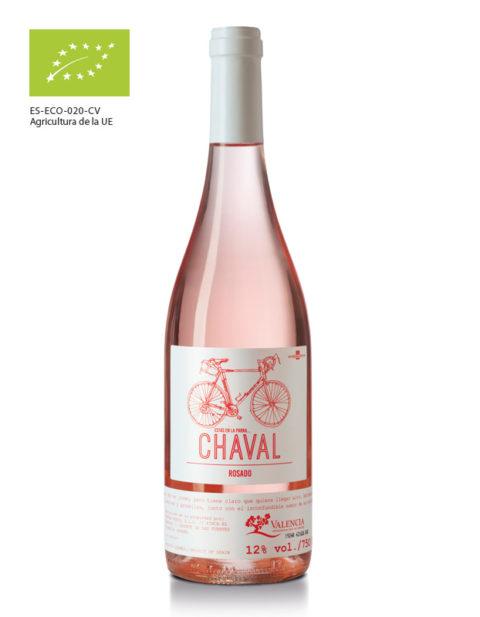 Vino rosado Chaval